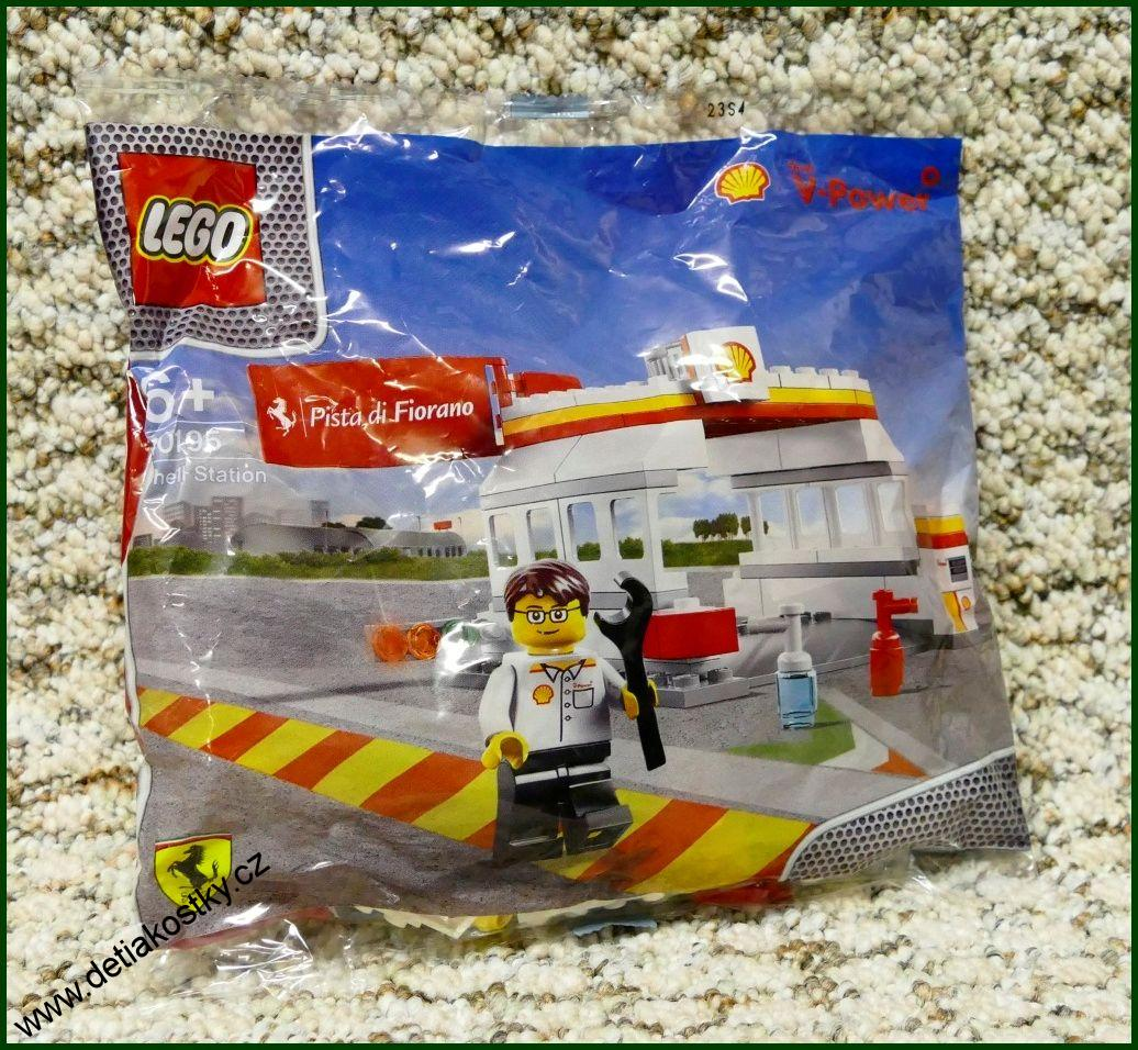 Lego Shell Station 40195