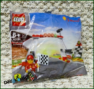 Lego Shell Finish Line 40194