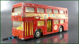 Matchbox Autíčko K-15 Double Decker Bus - LESNEY