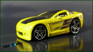 Hot Wheels Autíčko Tooned C6 Corvette (2004)