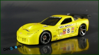 Hot Wheels Autíčko Corvette C6R (2006)