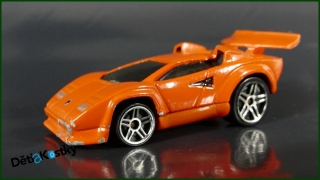 Hot Wheels Autíčko Tooned Lamborghini Countach (2004)