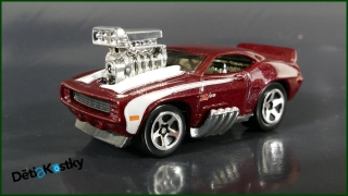 Hot Wheels Autíčko 'Tooned '69 Camaro Z28 (2004)