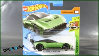 Hot Wheels Autíčko Aston Martin Vulcan (HW EXOTICS)
