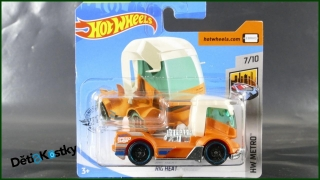 Hot Wheels Autíčko Rig Heat (HW METRO)