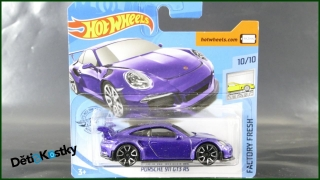 Hot Wheels Autíčko Porsche 911 GT3 RS (FACTORY FRESH)