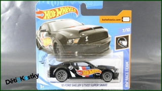 Hot Wheels Autíčko '10 Ford Shelby GT500 Super Snake (HW RACE TEAM)