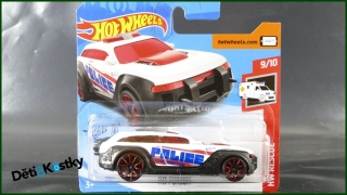 Hot Wheels Autíčko HW Pursuit (HW RESCUE)