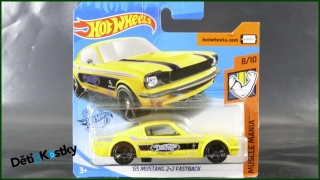 Hot Wheels Autíčko '65 Mustang 2+2 Fastback (MUSCLE MANIA)