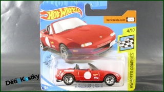 Hot Wheels Autíčko '91 Mazda MX-5 Miata (HW SPEED GRAPHICS)