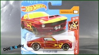 Hot Wheels Autíčko '67 Shelby GT-500 (HW FLAMES)