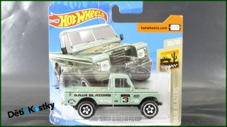 Hot Wheels Autíčko Land Rover Series III Pickup (BAJA BLAZERS)