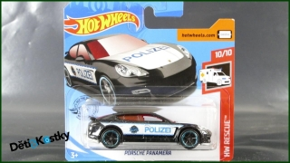 Hot Wheels Autíčko Porsche Panamera (HW RESCUE)