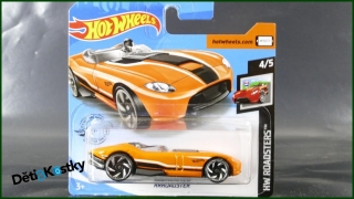Hot Wheels Autíčko RRRoadster (HW ROADSTERS)