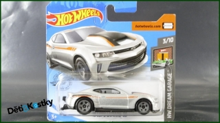 Hot Wheels Autíčko '18 Copo Camaro SS (HW DREAM GARAGE)