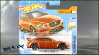 Hot Wheels Autíčko Jaguar XE SV Project 8 (FACTORY FRESH)