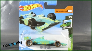 Hot Wheels Autíčko Indy 500 Oval (SPEED BLUR)