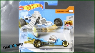 Hot Wheels Autíčko Diaper Dragger (HW METRO)