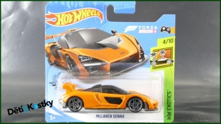 Hot Wheels Autíčko McLaren Senna (HW EXOTICS)
