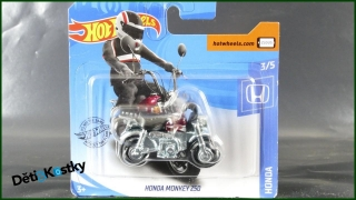 Hot Wheels Autíčko Honda Monkey 250 (HONDA)