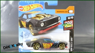 Hot Wheels Autíčko Night Shifter (HW RACE DAY)