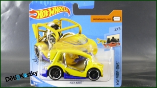 Hot Wheels Autíčko Kick Kart (HW RIDE-ONS)