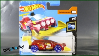 Hot Wheels Autíčko Rising Heat (X-RAYCERS)