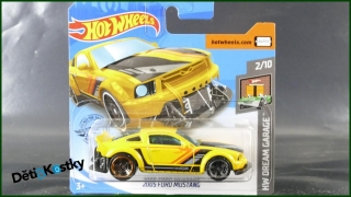 Hot Wheels Autíčko 2005 Ford Mustang (HW DREAM GARAGE)