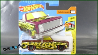 Hot Wheels Autíčko '83 Chevy Silverado (HW ART CARS)