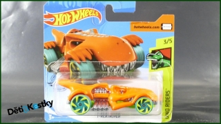 Hot Wheels Autíčko T-Rextroyer (DINO RIDERS)