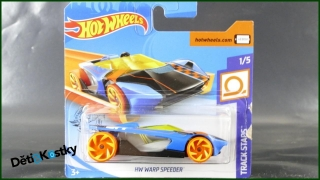 Hot Wheels Autíčko HW Warp Speeder (TRACK STARS)