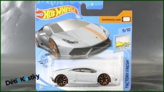 Hot Wheels Autíčko Lamborghini Huracán (FACTORY FRESH)