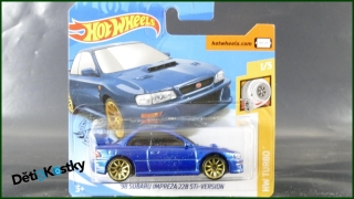 Hot Wheels Autíčko '98 Subaru Impreza 22B STi-Version (HW TURBO)
