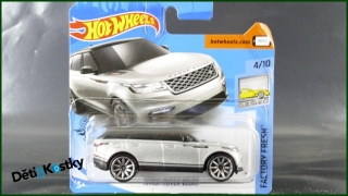 Hot Wheels Autíčko Range Rover Velar (FACTORY FRESH)