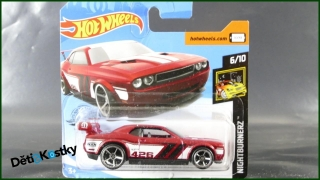 Hot Wheels Autíčko Dodge Challenger Drift Car (NIGHTBURNERZ)