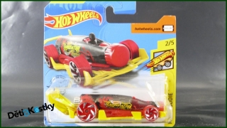 Hot Wheels Autíčko Carbonator (FAST FOODIE)