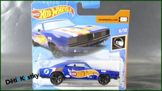 Hot Wheels Autíčko '69 Dodge Charger (HW RACE TEAM)