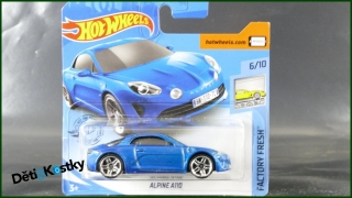 Hot Wheels Autíčko Alpine A110 (FACTORY FRESH)