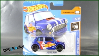 Hot Wheels Autíčko Morris Mini (HW RACE TEAM)