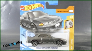 Hot Wheels Autíčko Nissan Skyline GT-R (BNR32) (HW TURBO)