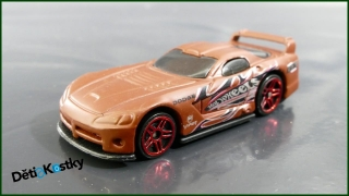 Hot Wheels Autíčko Dodge Viper GTS-R