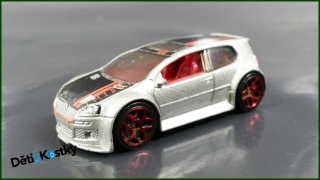 Hot Wheels Autíčko Volkswagen Golf GTI