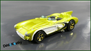 Hot Wheels Autíčko Corvette SR2