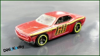 Hot Wheels Autíčko Dodge Challenger Concept