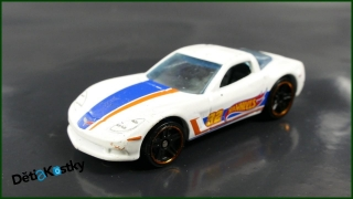 Hot Wheels Autíčko C6 Corvette